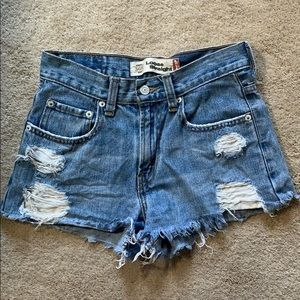 Levi's Distressed Shorts
